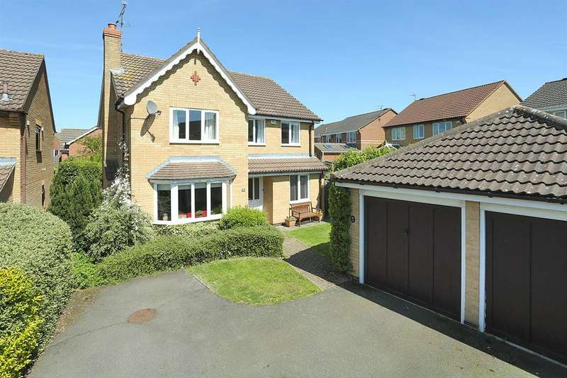 4 Bedrooms Detached House for sale in Hagley Close, Market Harborough