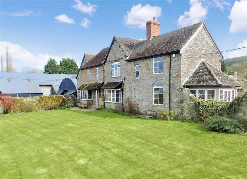 6 Bedrooms Farm House Character Property for sale in Clifford, Clifford, Nr Hay-on-Wye, Herefordshire