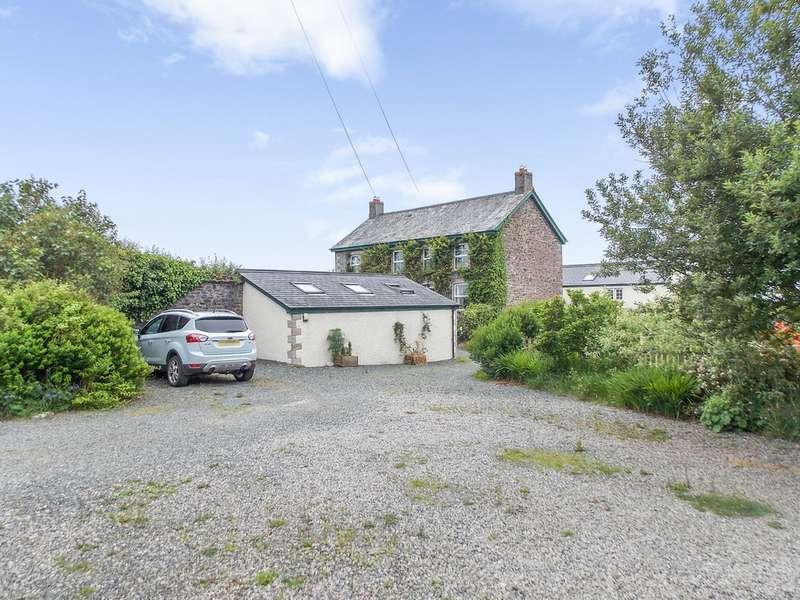 5 Bedrooms Property for sale in Langham House Estate Liftondown Lifton Devon PL16 0BZ