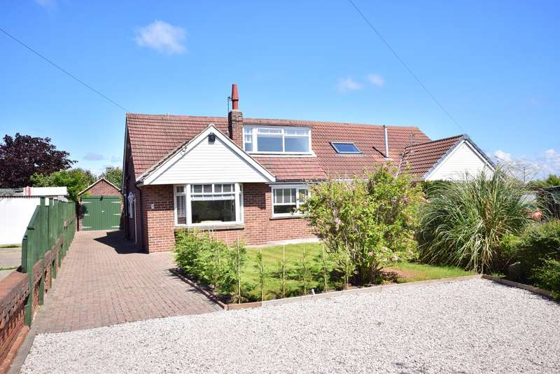4 Bedrooms Semi Detached Bungalow for sale in Salwick Place, LYTHAM ST ANNES, FY8