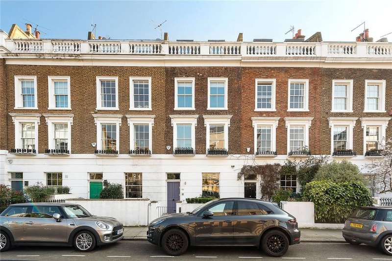 4 Bedrooms Terraced House for sale in Artesian Road, Notting Hill