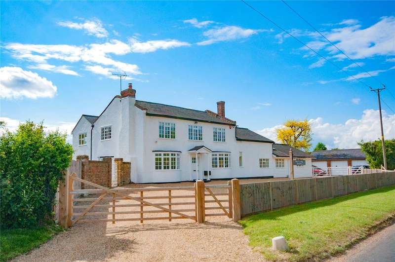 5 Bedrooms Detached House for sale in Hare Street Road, Anstey, Buntingford, Hertfordshire, SG9