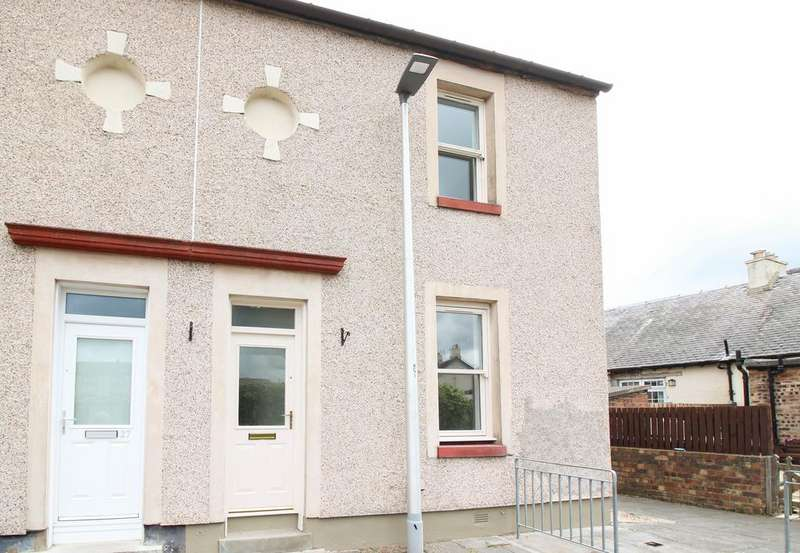 2 Bedrooms End Of Terrace House for sale in Louisa Square, Rosewell EH24