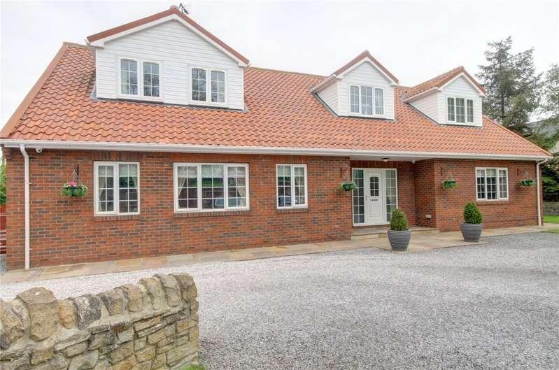 5 Bedrooms Detached House for sale in Durham Road, Coatham Mundeville, Darlington, DL1