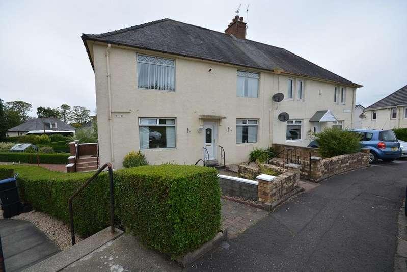 2 Bedrooms Flat for sale in Stirling Crescent, Kilmarnock, KA1