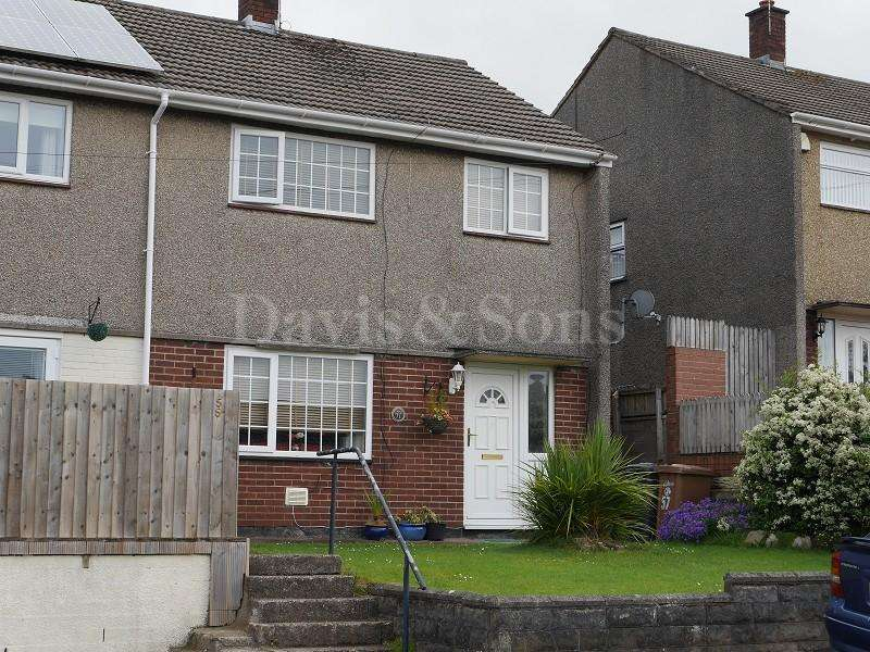 3 Bedrooms Semi Detached House for sale in Manor Way, Risca, Newport. NP11 6