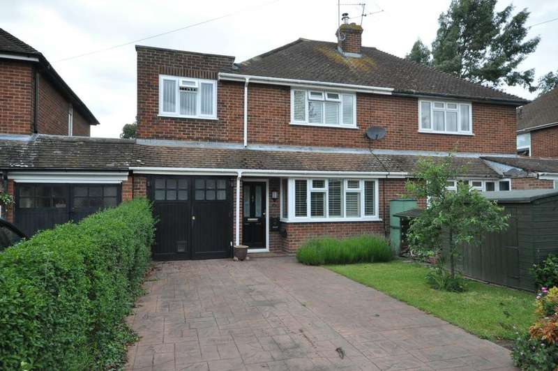 3 Bedrooms Semi Detached House for sale in Wyndham Crescent, Woodley, Reading, RG5 3AY
