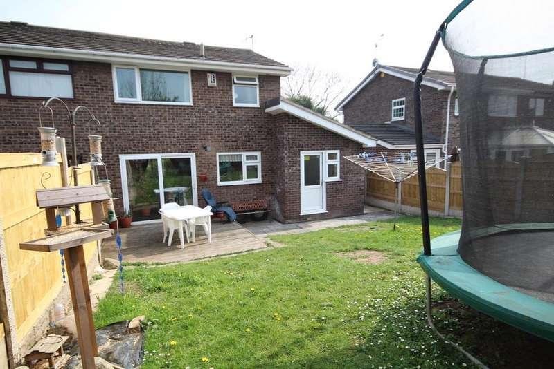 3 Bedrooms Semi Detached House for sale in Aston Park Road, Shotton, Deeside