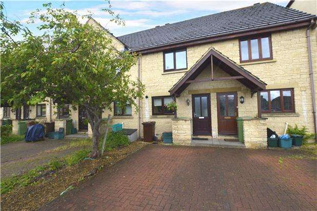 2 Bedrooms Terraced House for sale in Rosehip Court, Up Hatherley, CHELTENHAM, Gloucestershire, GL51 3WN