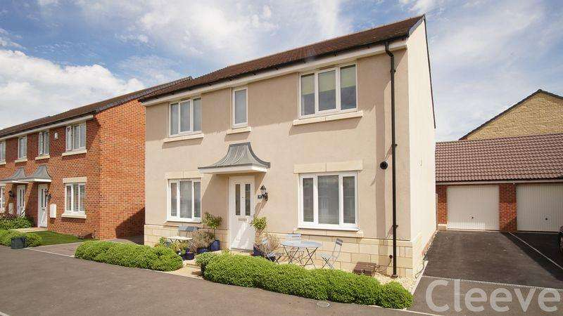 4 Bedrooms Detached House for sale in Wendercliff Close, Bishops Cleeve