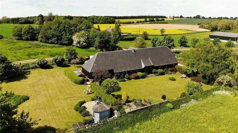 4 Bedrooms Detached House for sale in Stanmore, Beedon, Newbury, Berkshire, RG20