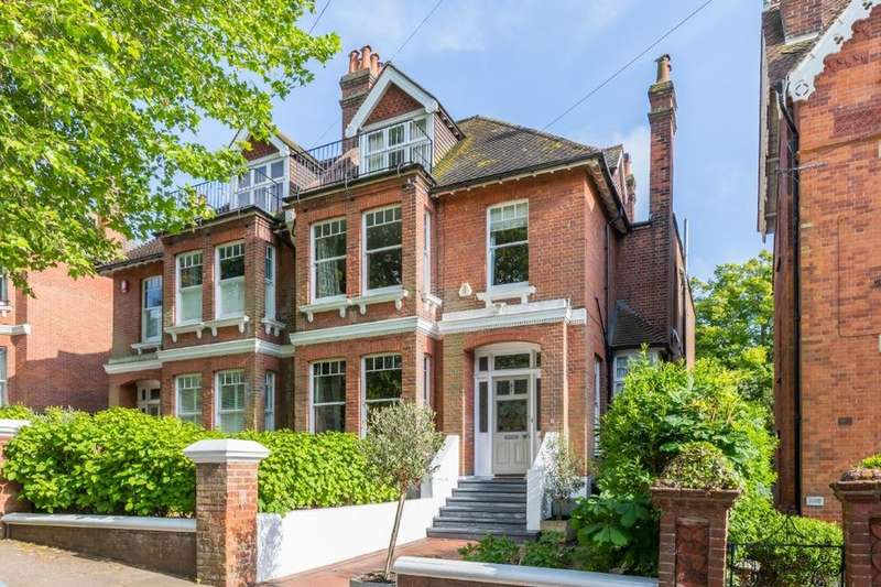 6 Bedrooms Semi Detached House for sale in Harrington Road, Brighton, East Sussex, BN1