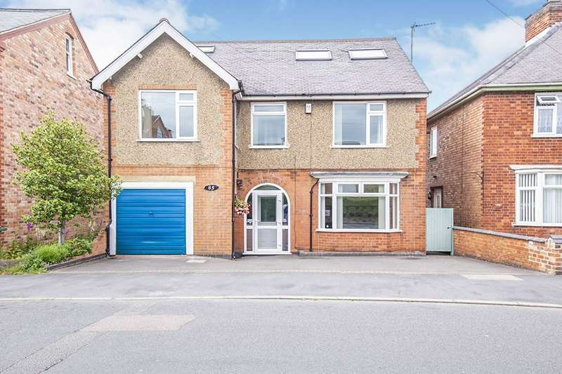 6 Bedrooms Detached House for sale in Knightthorpe Road, Loughborough, LE11