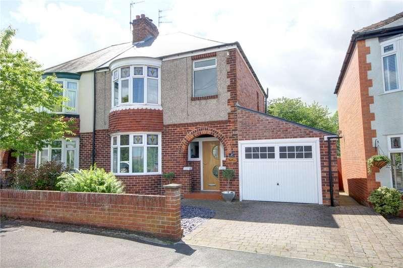 3 Bedrooms Semi Detached House for sale in St Charles Road, Tudhoe Village, Durham, DL16