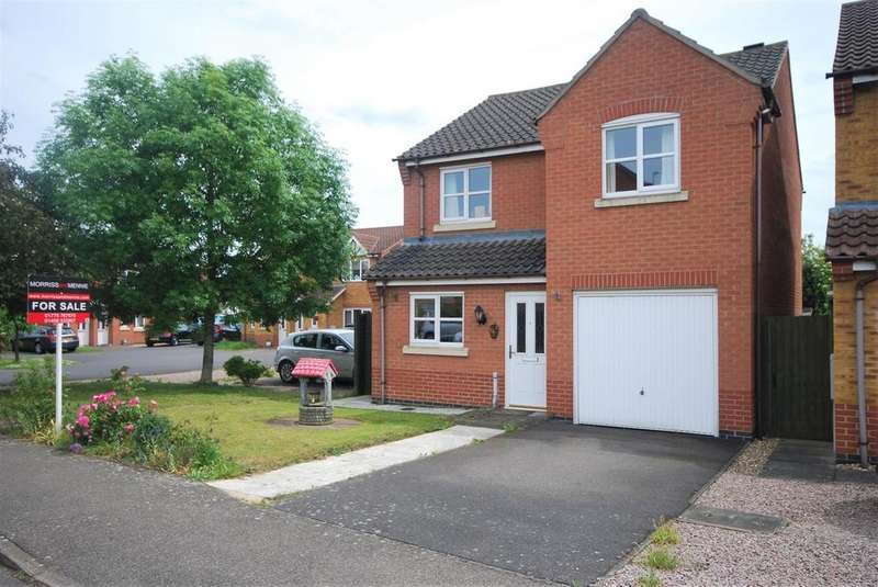3 Bedrooms Detached House for sale in Livingstone Drive, Spalding