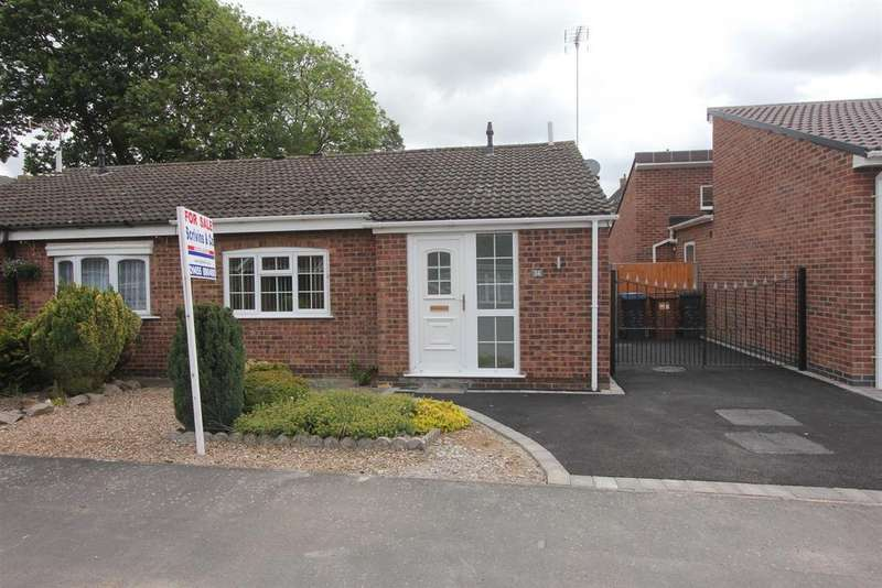 2 Bedrooms Semi Detached Bungalow for sale in Kerry Close, Barwell