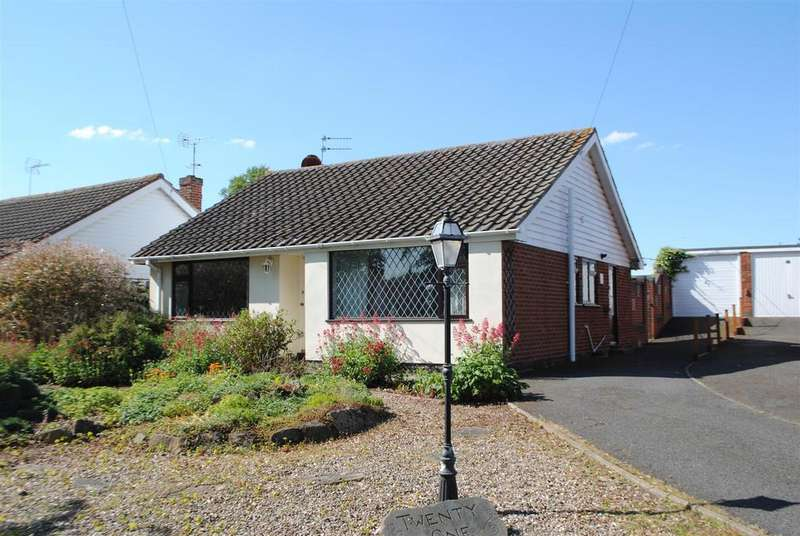 3 Bedrooms Detached Bungalow for sale in Somerset Close, Burton-On-The-Wolds
