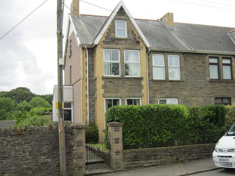 5 Bedrooms Semi Detached House for sale in Moorland Road, Bargoed CF81