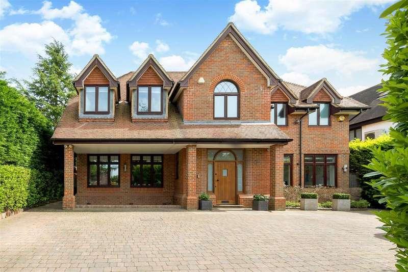 5 Bedrooms Detached House for sale in Loom Lane, Radlett