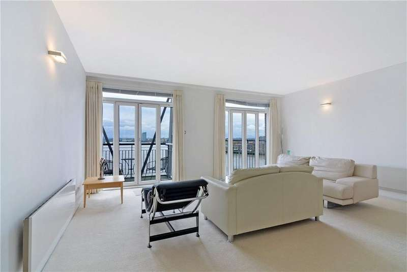 2 Bedrooms Penthouse Flat for sale in Dundee Wharf, 100 Three Colt Street, London, E14
