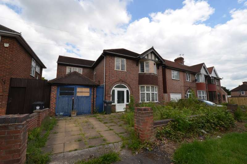 4 Bedrooms Detached House for sale in 113 Groby Road, Leicester, Leicestershire