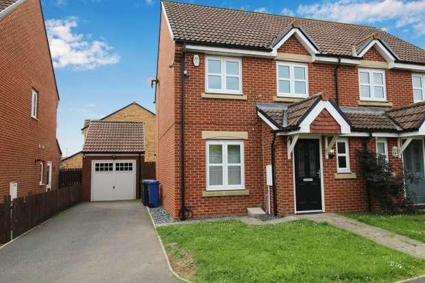 3 Bedrooms Semi Detached House for sale in Brackenridge, Durham, DH6 2QT
