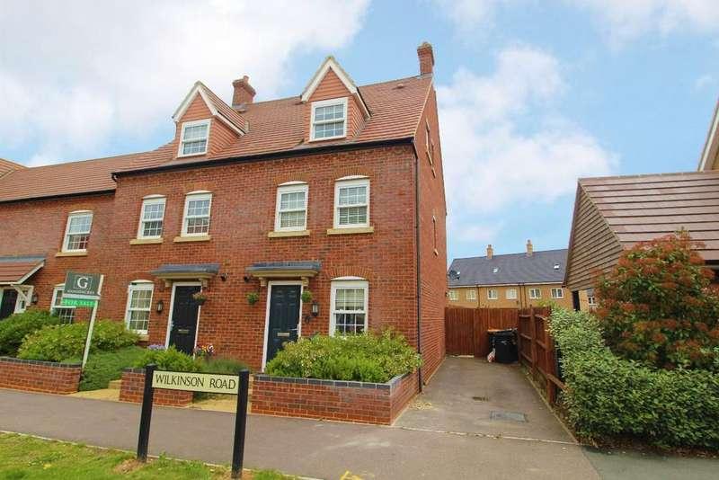 3 Bedrooms Semi Detached House for sale in Wilkinson Road, Kempston, Mk42
