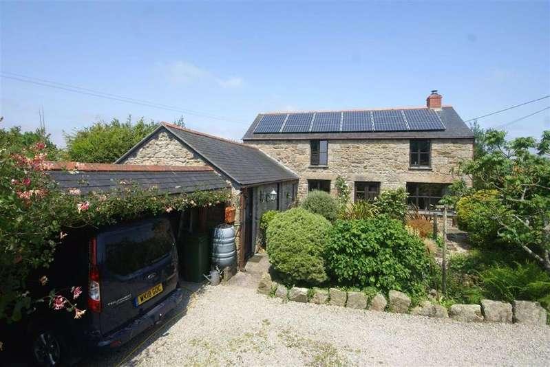 4 Bedrooms Detached House for sale in Rowes Lane, Trevenen Bal, Helston, Cornwall, TR13
