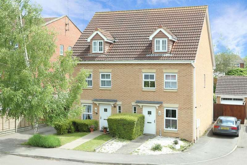 3 Bedrooms Semi Detached House for sale in Middlebrook Green, Market Harborough