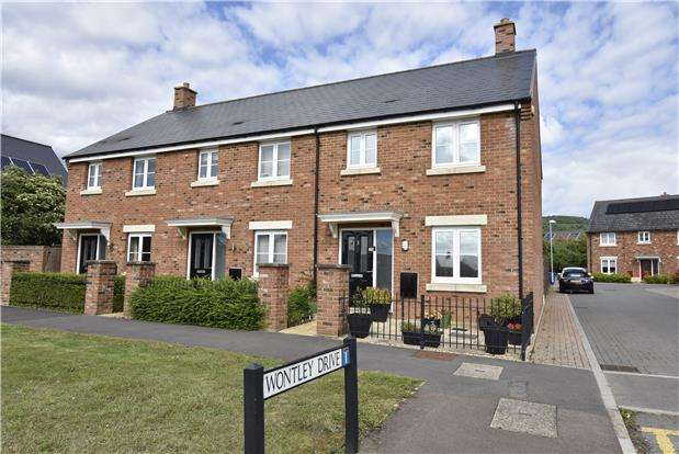 3 Bedrooms End Of Terrace House for sale in Wontley Drive, Bishops Cleeve GL52
