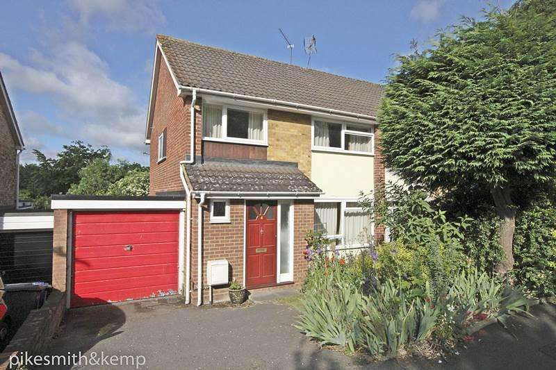 3 Bedrooms Semi Detached House for sale in Kennedy Close, MAIDENHEAD, SL6
