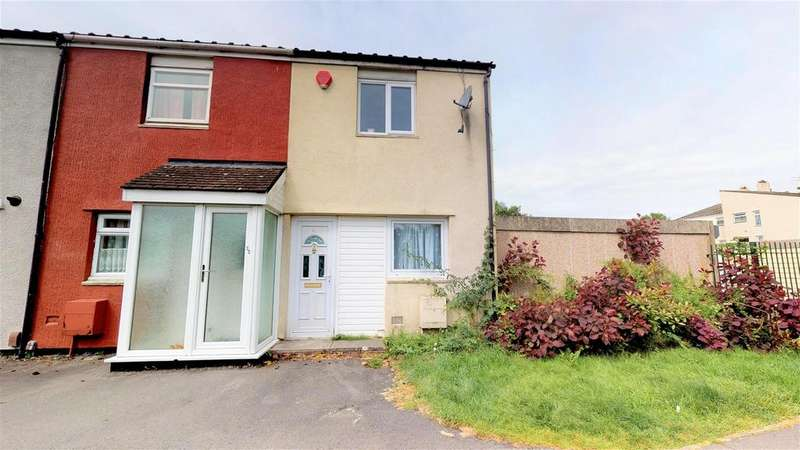 2 Bedrooms End Of Terrace House for sale in Pinkhams Twist, Whitchurch, Bristol