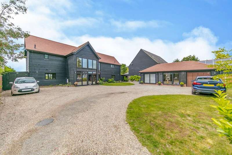 5 Bedrooms Detached House for sale in Ford Lane, Alresford, Colchester, CO7