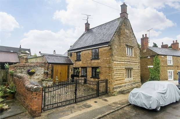 3 Bedrooms Detached House for sale in Main Street, Wilbarston, Market Harborough, Northamptonshire
