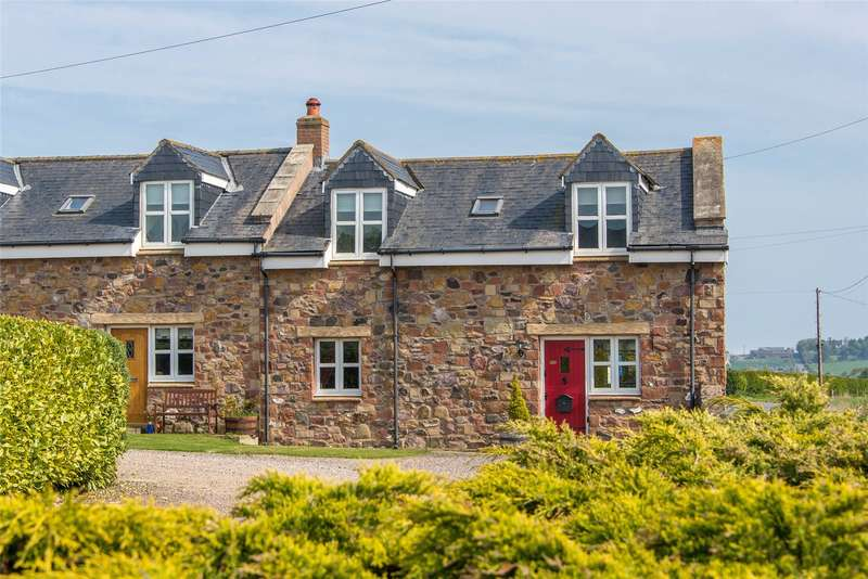 3 Bedrooms Terraced House for sale in Ptarmigan Cottage, Eyemouth, Scottish Borders, TD14