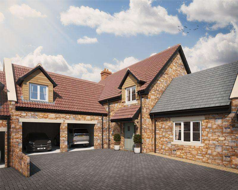 5 Bedrooms Semi Detached House for sale in Character new home in a desirable village