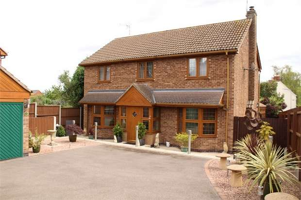4 Bedrooms Detached House for sale in Claybrooke Magna