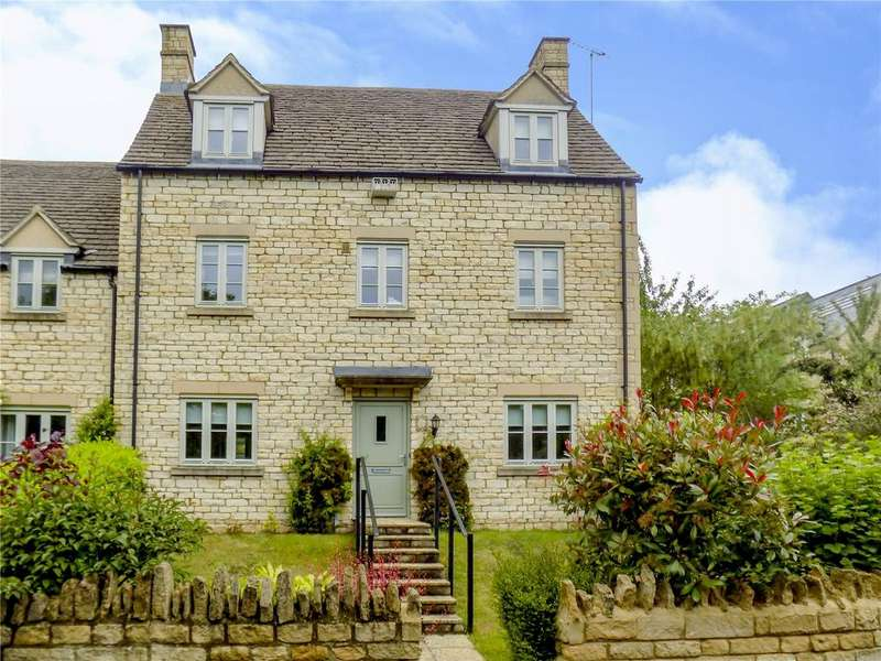 5 Bedrooms End Of Terrace House for sale in Trotman Walk, Cirencester, Gloucestershire, GL7