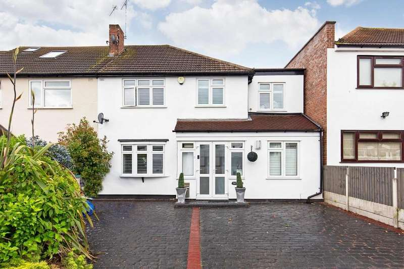 5 Bedrooms Semi Detached House for sale in Charnwood Drive, South Woodford