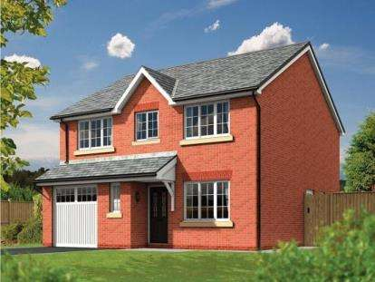 4 Bedrooms Detached House for sale in The Scott, Heathfields, Off Stone Cross Lane North, Lowton, Warrington