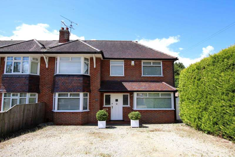 3 Bedrooms Semi Detached House for sale in Kidmore Road, Caversham Heights, Reading