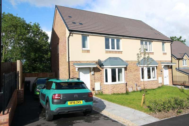3 Bedrooms Semi Detached House for sale in Elgar Circle, Newport, NP19