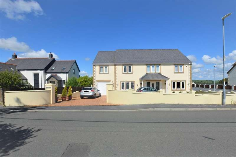 5 Bedrooms Detached House for sale in Heol Hen, Five Roads, Llanelli