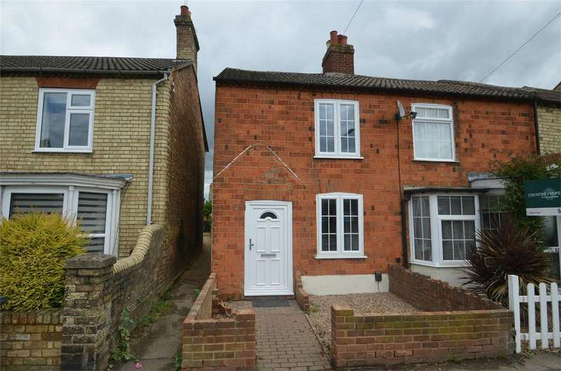 2 Bedrooms End Of Terrace House for sale in Clifton Road, SHEFFORD, Bedfordshire