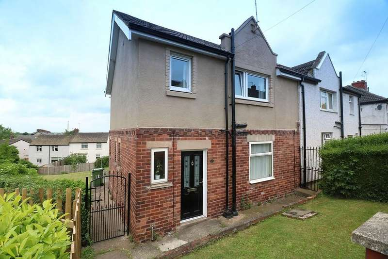 3 Bedrooms Semi Detached House for sale in Mill Crescent, Whitwell