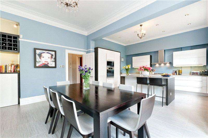 5 Bedrooms Semi Detached House for rent in Marlborough Road, Chiswick, London, W4