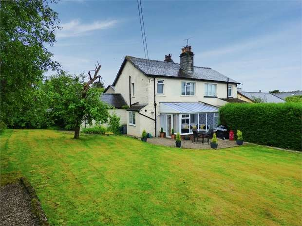 4 Bedrooms Semi Detached House for sale in Green Lane, Storth, Milnthorpe, Cumbria