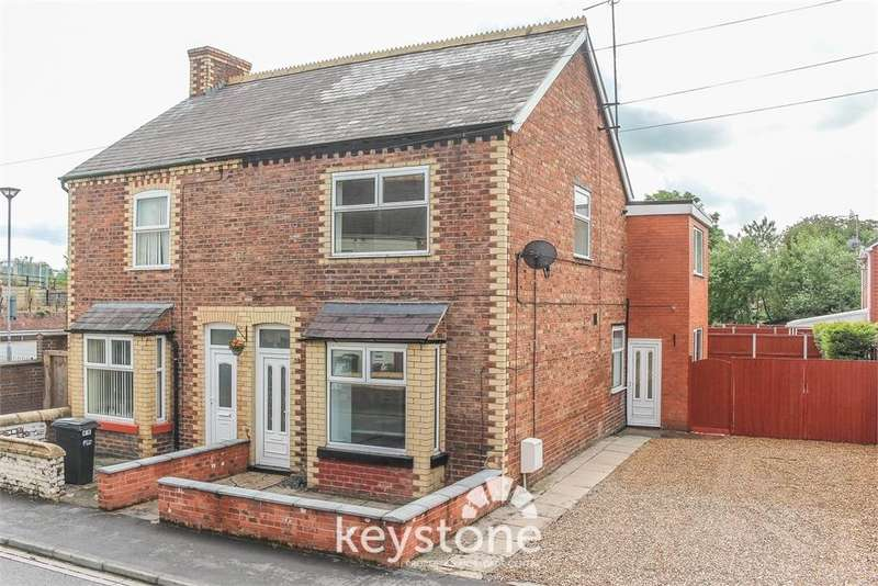 3 Bedrooms Semi Detached House for sale in Fairfield Road, Queensferry, Deeside. CH5 1SS
