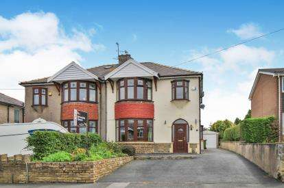 3 Bedrooms Semi Detached House for sale in Herkomer Avenue, Burnley, Lancashire, BB11