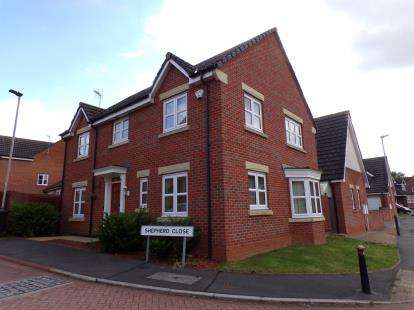 4 Bedrooms Detached House for sale in Shepherd Close, Hamilton, Leicester, Leicestershire